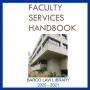 Cover of Faculty Services Handbook